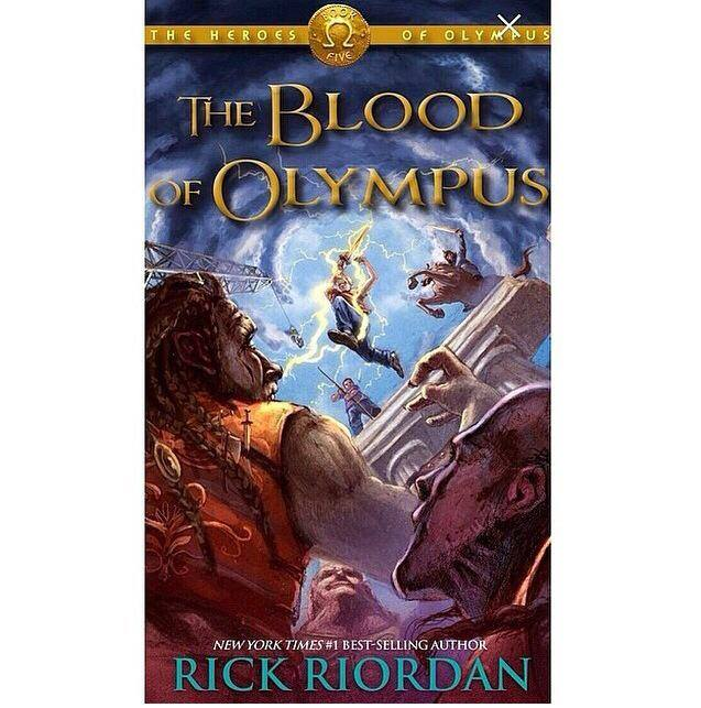 Blood of Olympus cover